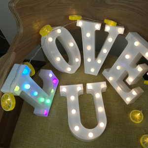 hot sale led marquee letter light for party decoration