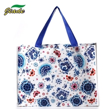 Widely used recycled cheap price custom LOGO printed tote PP woven bag