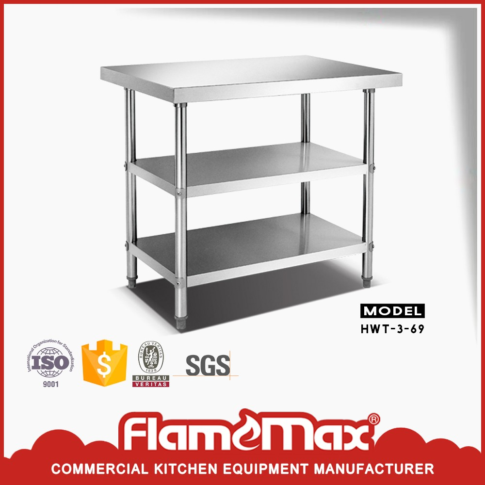 top quality stainless steel sorting working table