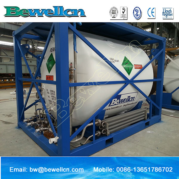 Liquid oxygen/Nitrogen/Argon/LNG Cryogenic Storage Gas Tank