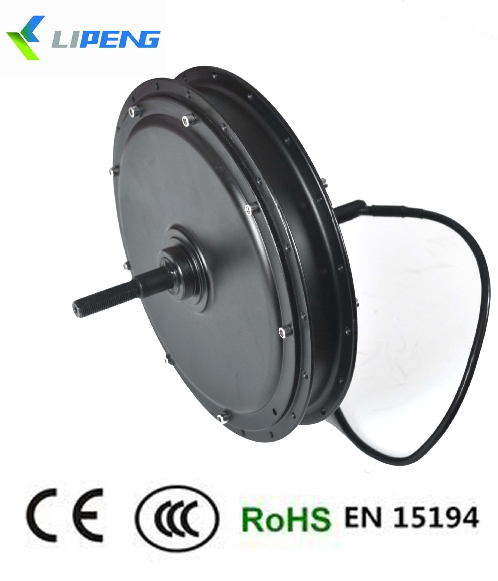 Easy installation 48v 500w brushless electric bicycle hub for Bicycles with electric motors