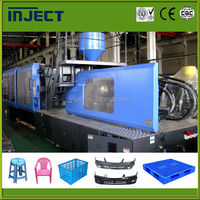 Plastic injection moulding machinery for chair pallet IJT1250 molding MAX 1600T