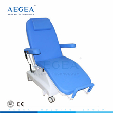 AG-XD301 hospital furniture PU leather steel frame hemodialysis chairs