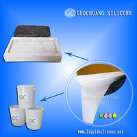 rtv-2 liquid silicone rubber for concrete casting