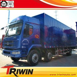 factory sale price 14t 15t 16t EURO 4 emission standard 6x2 drive wheel diesel engine 220hp heavy duty van camion