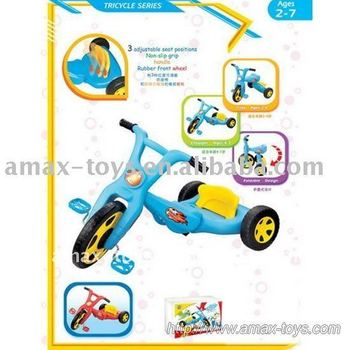 bt-0803 children rubber wheels tricycle, pedal bicycle