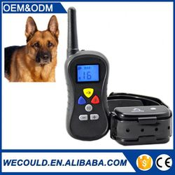 Factory price wholesale rechargeable and waterproof dog training collar PTS-018 dog electric fence