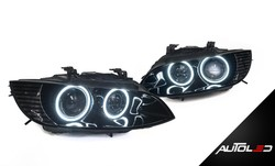 2011-2014 3 series E92 LED Headlights (Carbon Fiber Housing)