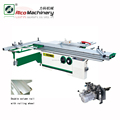 Wood furniture machine with 45 degree tilting Table-sliding panel Saw