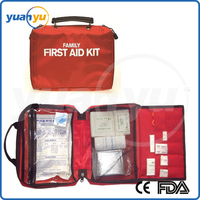 FDA&CE approved Red Cross Medical family/office/workshop/travel First Aid Kit,emergency first aid kit