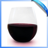 Plastic Tritan Wine Glass Cup CL-WC004