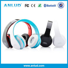 ALD06 Best price battery for bluetooth headset for pc Colorful headband wireless bluetooth stereo headset with CE/FCC/RoHS