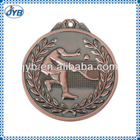 special award carved gold Sports Medal for tennis