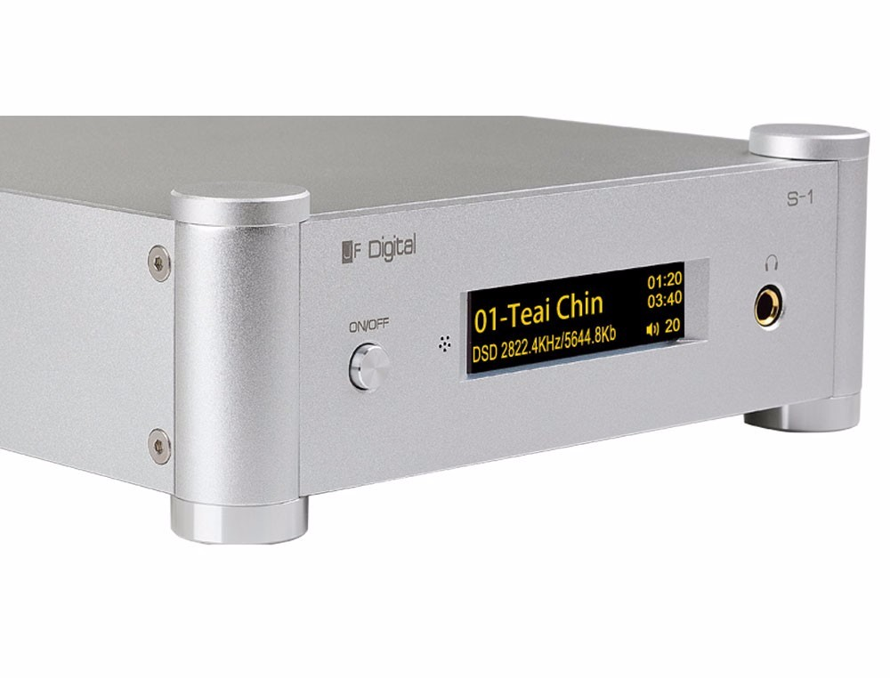J.Feng S-1 HiFi XMOS USB DSD DAC Decoder Headphone Amplifier Network Music Player All-In-One