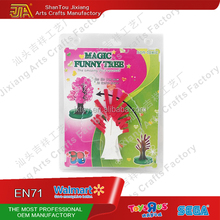 DIY product Magic Growing Paper Red Tree