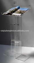 hot sale and modern acrylic podium pulpit lectern