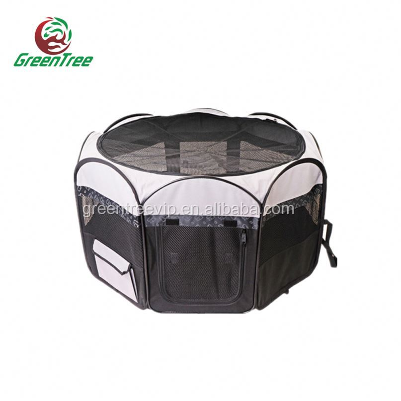 Foldble Rabbit Pet Cage Wholesale Playpen W/ With Plastic Tray Pan