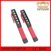 ABS Super Bright 6 Led Pen Light with 6 SMD LED for Worker