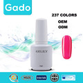 Popular 237 Colors GELILY Soak Off UV & LED Nail Polish Top Coat 15ml
