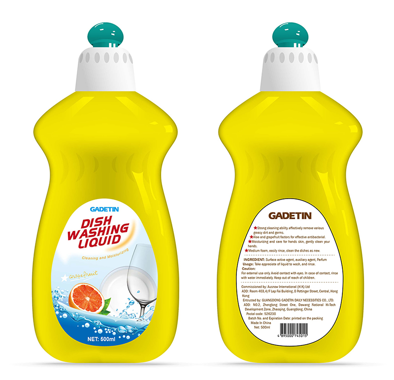 OEM/ODM bulk dishwashing liquid formula