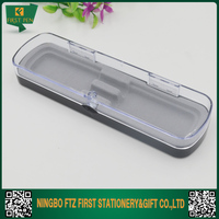 2017 Custom Logo Clear Color Empty Gift Pen Boxes