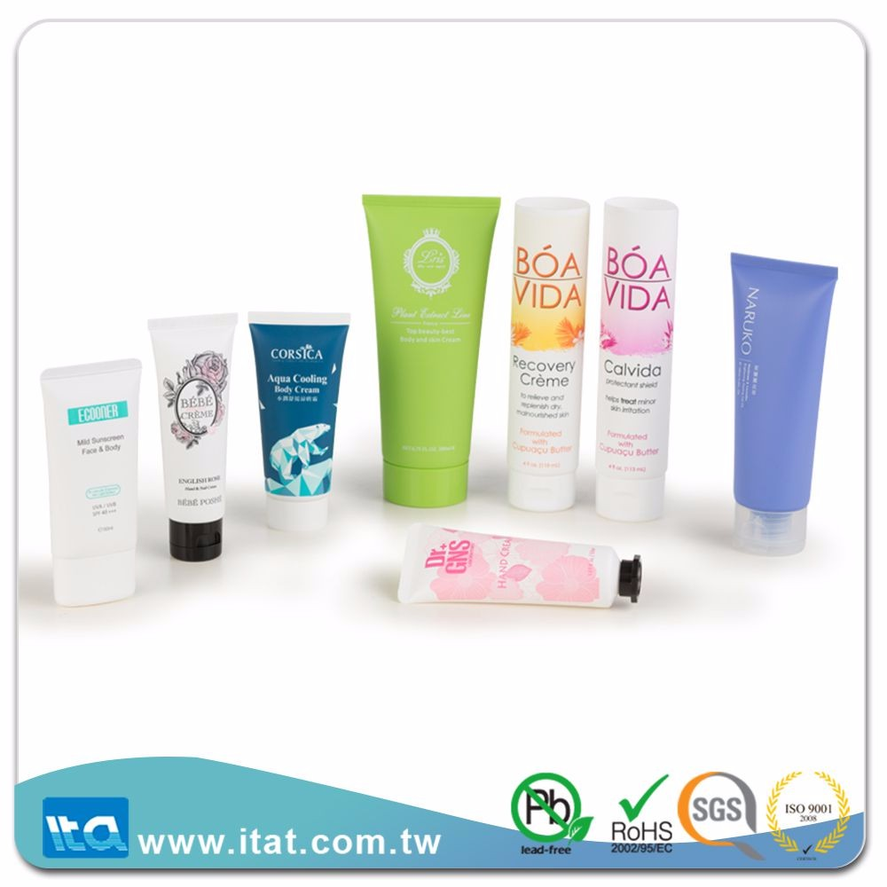 new design china suppliers lotion handling label packaging tube