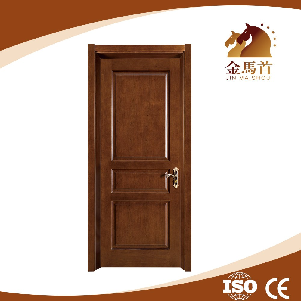 Swing Open Style and Interior Position Flush Interior Door Prefinished Solid Core Walnut Veneer Door