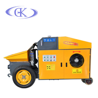 450kg 15kw secondary structural concrete screw pump