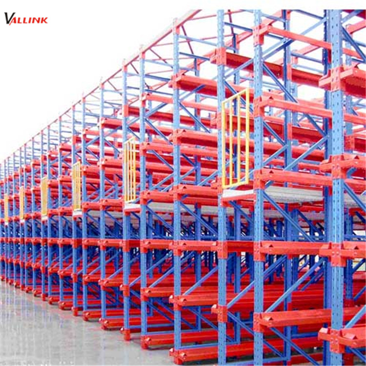material q235 heavy duty drive in pallet rack with channels