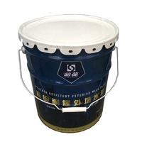 Manufacturer for conical paint pail 19 liter,20L round metal drums UN approved,paint bucket sizes accept customized
