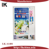 LK-A1401 Wall mounted mini vending machine for tissue/ condom/cigarette