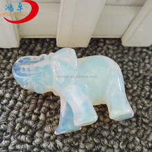 opal Jade Sone Carved China Wholesale Elephant Figurines