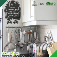 ALY-CBK156 eco-friendly home decor oem promotional non-toxic BSCI vinyl wall sticker blackboard decal