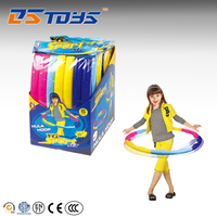 Factory Price plastic detachable hula hoop ring for fitness