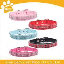Pet products Shining Round Diamond Rhinestone Dog Neck Collar