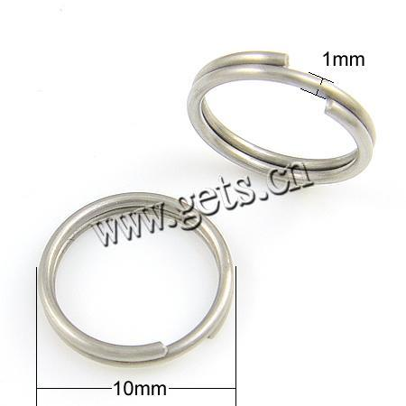 316l stainless steel plastic split ring