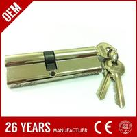 high class B zamak removable top cylinder door handle lock for wholesales