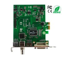 Pci Express HDMI Video Capture Card 4ch Real Time HD-SDI DVI Input