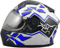 Mens unique Motorcycle helmet with beautiful color -- - ECE/DOT Certification Approved