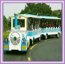 outdoor playground tourist train kiddie entertainment equipment