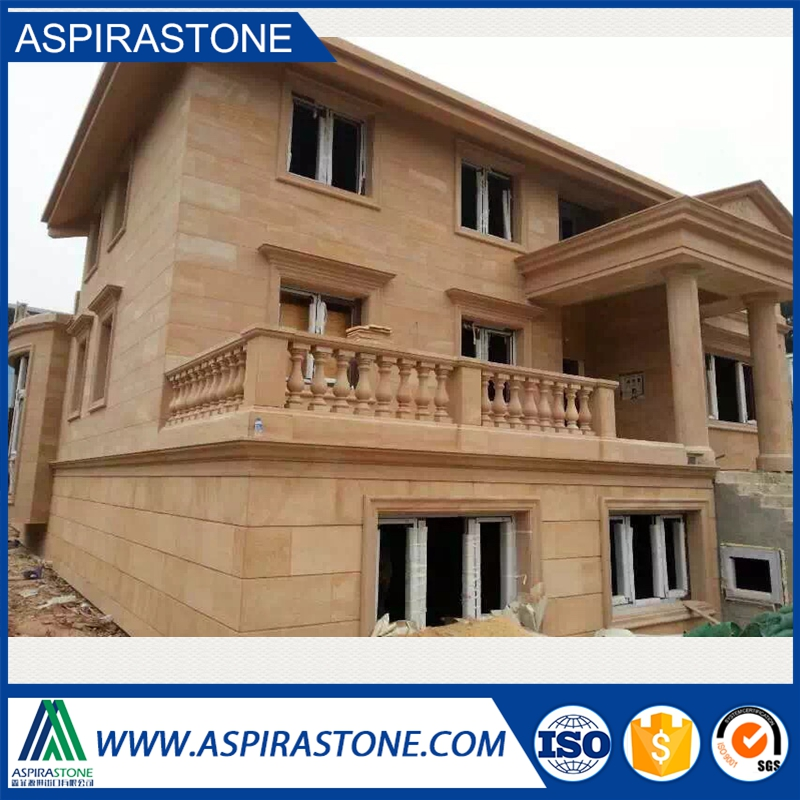 beige slate stone for outside wall covering
