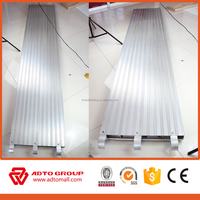 Multifunctional Construction scaffolding corrugated aluminum plank