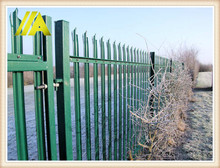 palisade fence-114 1.8m height W profile cheap derwent fencing
