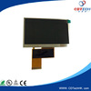4.3 inch TFT LCD module with touch screen panel with LED backlight