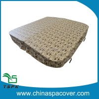 super strong 5''-3'' slope square spa covers/hot tub covers/outdoor bathtub covers