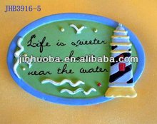 2014 home decor plastic refrigerator magnet