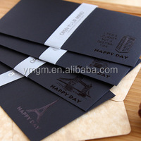 handicraft any other size metallic envelopes with embossed printing