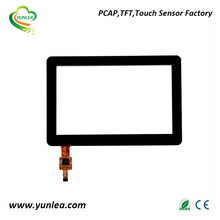 Yunlea factory 800x480 dots 5 inch i2c touch screen kit FT5316 chip