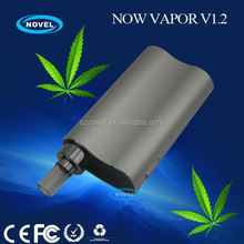 Factory wholesale price integrated mini vaporizer 3 in 1 vape pen Now Vapor V1.2 vaporizer singapore