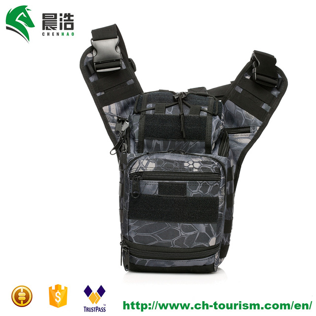 600D waterproof durable oxford men women outdoor camouflage camping hiking fishing climbing tactical military bag alforja molle